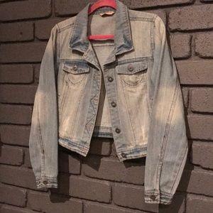 Denim Jacket Highway jeans brand EUC Large